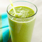 rosemary mango green smoothie