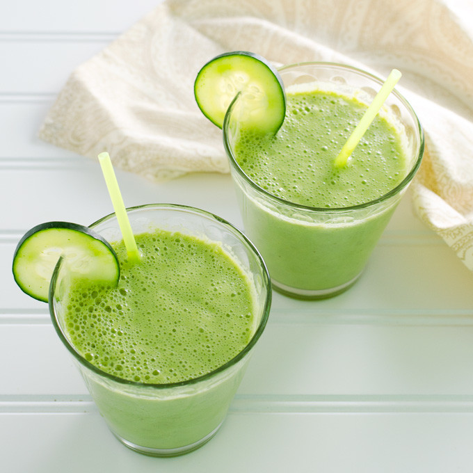 cucumber ginger smoothie