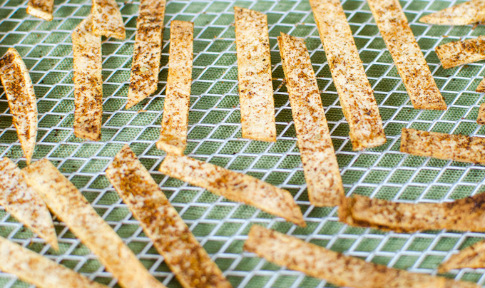 how to make tortilla strips
