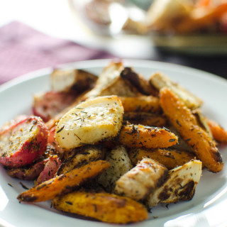 Roasted Root Veggies – V and GF
