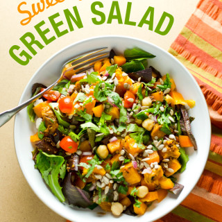 Sweet Potato Green Salad