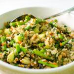 asparagus sushi salad