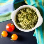 Avocado Pesto Spread - vegan | VeggiePrimer.com