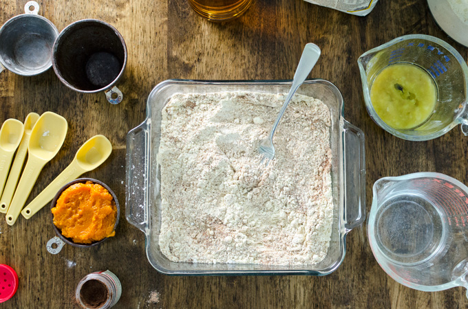 Gluten-Free Pumpkin Snack Cake | VeggiePrimer.com