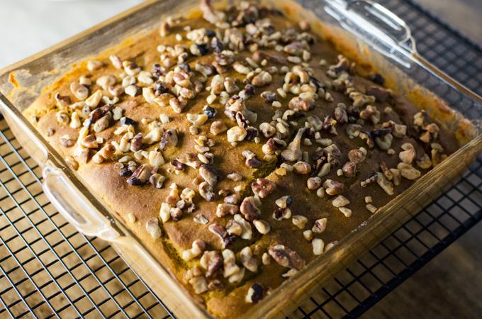 Gluten-Free Pumplin Snack Cake | VeggiePrimer.com