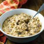 Quick Pumpkin Oatmeal | VeggiePrimer.com