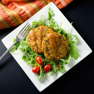 Pumpkin Quinoa Veggie Burgers