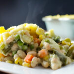 White Bean Shepherd's Pie - This vegan and gluten-free recipe is both tasty and east to make - with a little planning you can prepare this warm, creamy, flavorful and satisfying meal in about an hour. | VeggiePrimer.com