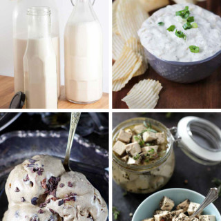 Plant-Based Dairy Substitutes - Go Dairy-Free & Remain Happy - these vegan and gluten-free recipes make going dairy-free a whole lot easier!