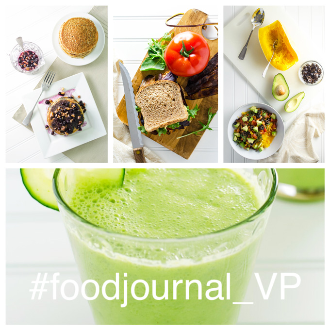Join VeggiePrimer.com in a food journal challenge for the month of August 2016.