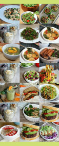 One-Week Plant-Based Menu - a collection of comforting easy to prepare gluten-free vegan recipes by guest blogger Anne from SimpleandSavory.com