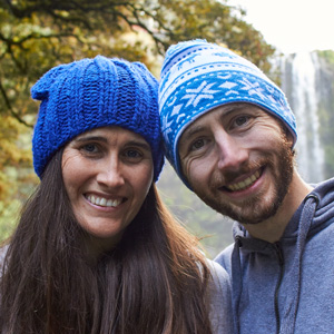 Josh and Kate from Delightful Vegans - check out their Vegan Meal Plan