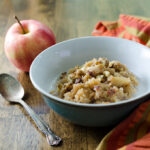 instant pot vegan and gluten-free apple cinnamon quinoa porridge recipe