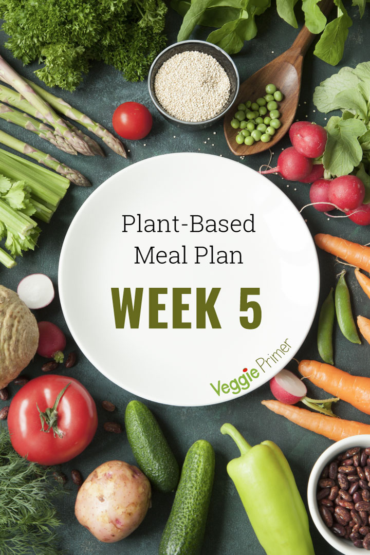 Week 5 Plant-Based Meal Plan graphic