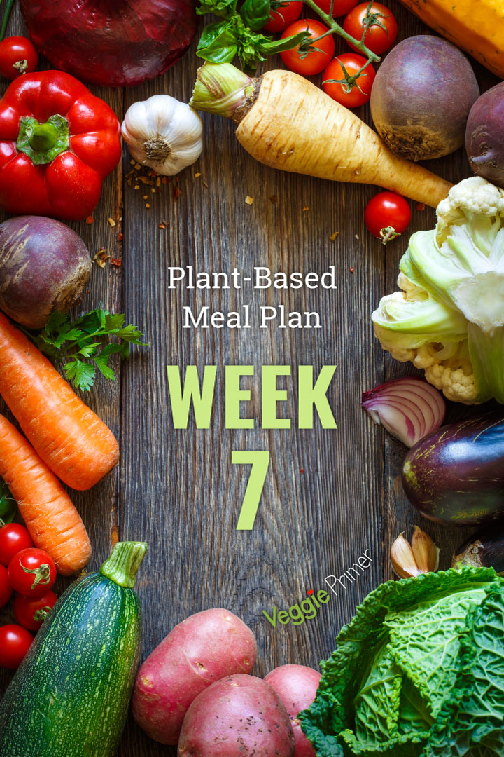 Week 7 Plant-Based Meal Plan Graphic