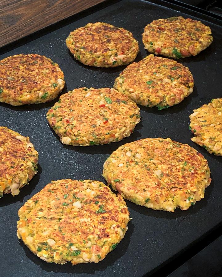 curried veggie patties