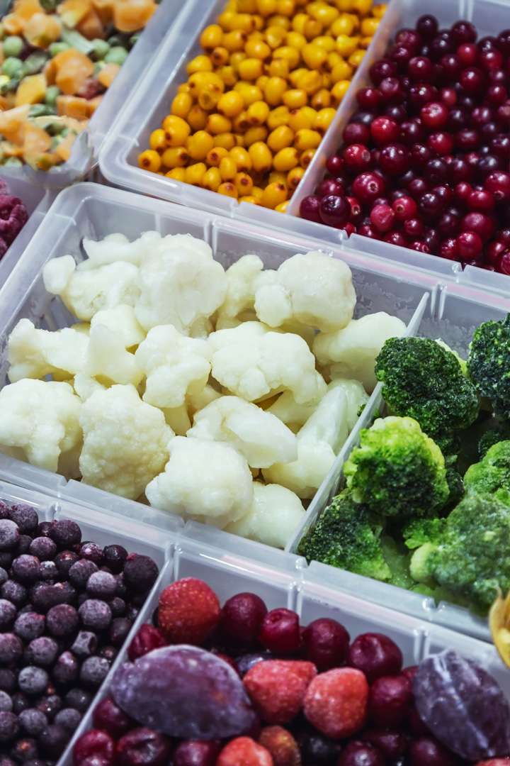 Foods to Keep on Hand - Frozen Fruits and Veggies